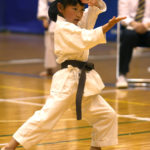 小学生3・4年個人型優勝 野間紗雪選手