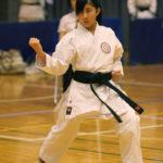 中学生女子個人型優勝 和田歩選手