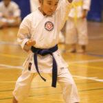 小学生1・2年個人型優勝 笹川朱莉選手