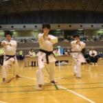 中学生団体型優勝 沼袋拳行クラブ
